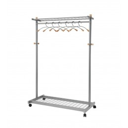 Mobile Garment Rack -...